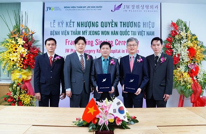 Bệnh viện thẩm mỹ JW Hàn Quốc hoạt động theo cơ chế nhượng quyền thương hiệu nên chất lượng được đảm bảo