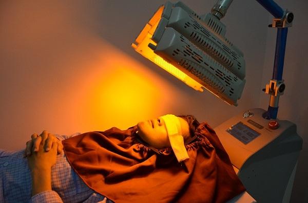 Máy giảm sưng sau khi phẫu thuật giúp vùng thương tổn nhanh chống phục hồi