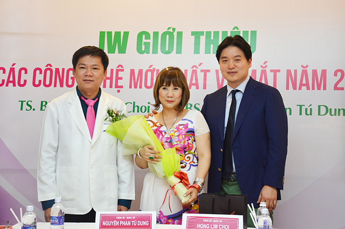 TS. BS Hong Lim Choi và TS. BS. Nguyễn Phan Tú Dung