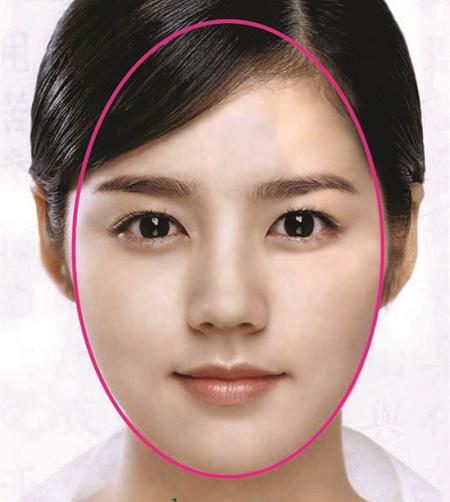 Gương mặt cân xứng nhờ tỷ lệ gò má, mũi, mắt,... phù hợp