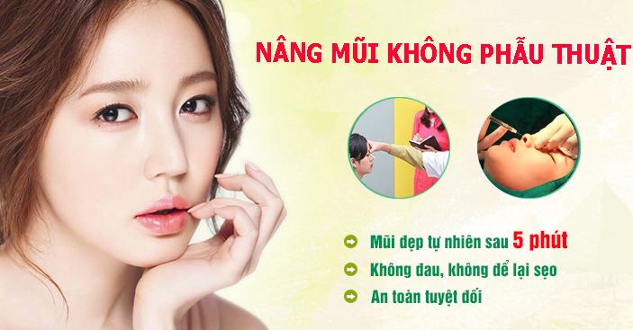 dịch vụ nâng mũi không phẫu thuật