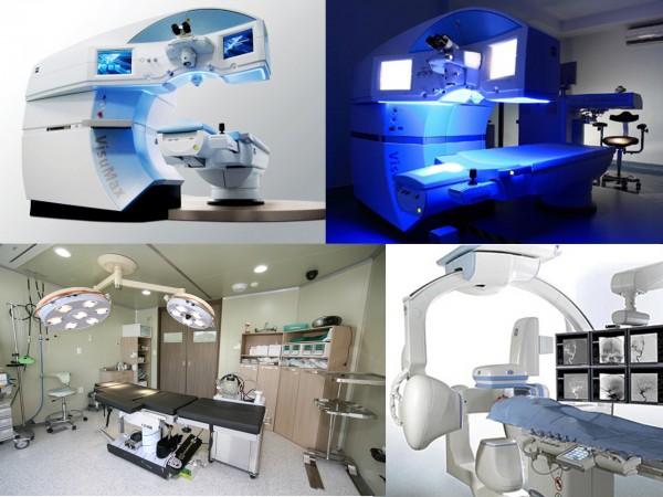 Hệ thống trang thiết bị đảm bảo phục vụ tối đa cho phẫu thuật thẩm mỹ