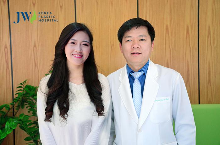 Diện mạo mới của Hồng Anh sau khi được Bác sĩ Tú Dung phẫu thuật thành công