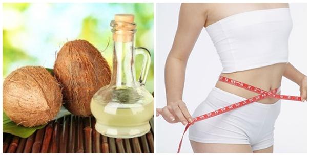 Dầu dừa cũng là lựa chọn tốt cho những ai đang có nhiều mỡ bụng