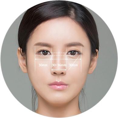 Tỉ lệ cho đôi mắt đẹp đòi hỏi nhiều yếu tố quan trọng