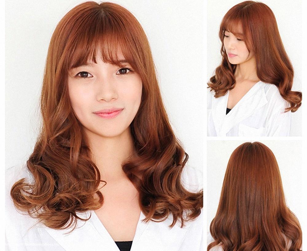 Bật mí kiểu tóc cho người trán cao_3