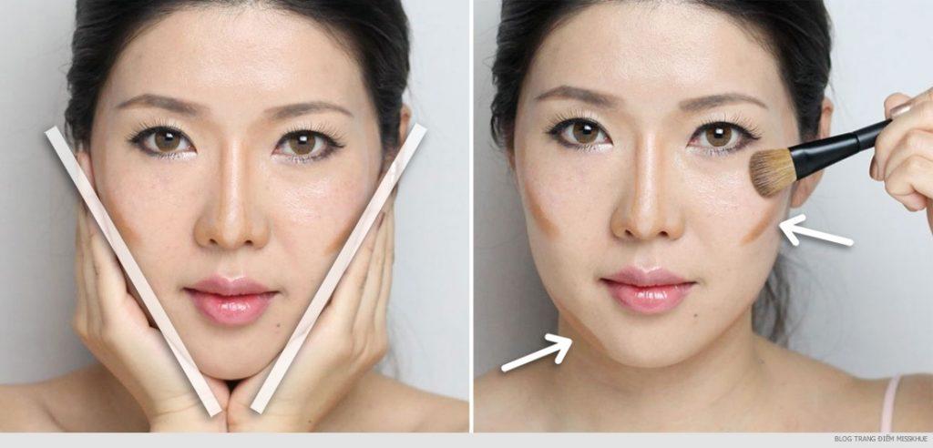 huong-dan-trang-diem-tao-khoi-khuon-mat-v-line-thon-gon-make-up