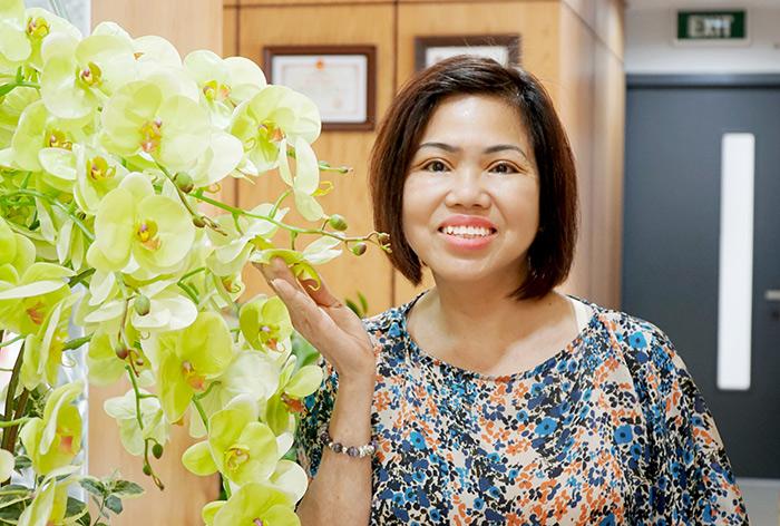 Trần Thị Mai Oanh - Điều trị mắt sụp mí