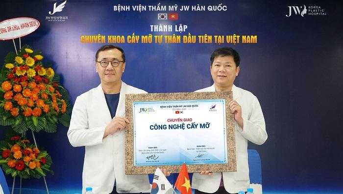 JW sở hữu Chuyên khoa Cấy ghép mỡ đầu tiên tại Việt Nam - Ảnh 1
