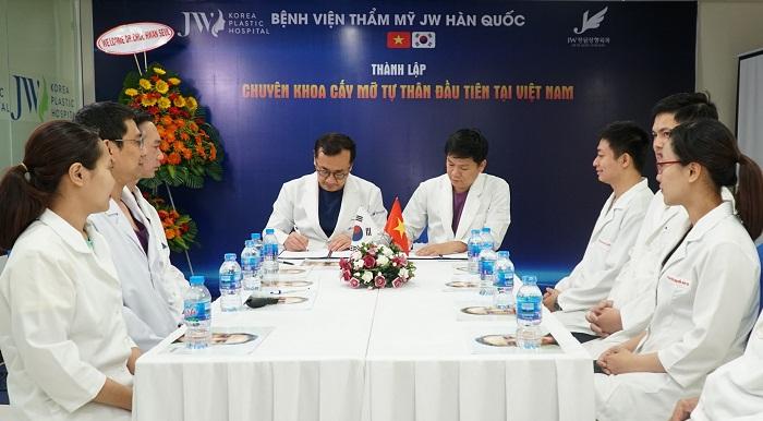JW sở hữu Chuyên khoa Cấy ghép mỡ đầu tiên tại Việt Nam - Ảnh 3